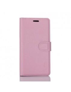 Notesz telefontok Nokia 6 telefonhoz - RÓZSASZÍN