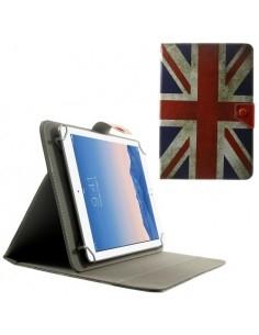 10 inches brit zászlós univerzális kinyitható táblagép tok