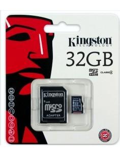 Kingston MicroSD memóriakártya 32GB Class 4