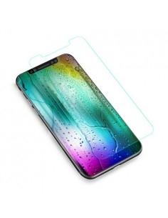 Kijelzővédő karcálló edzett üveg iPhone X típusú telefonhoz