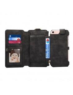 DIBASE multifunkciós telefontok iPhone 8 és 7 / 6S / 6 telefonhoz - FEKETE