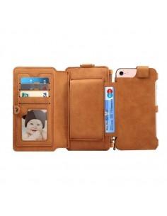 DIBASE multifunkciós telefontok iPhone 8 és 7 / 6S / 6 telefonhoz - BARNA