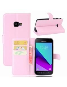 Notesz tok Samsung Galaxy Xcover 4 telefonhoz - RÓZSASZÍN