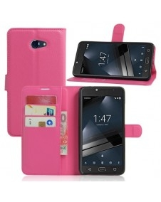 Notesz tok Vodafone Smart ultra 7 telefonhoz - PINK