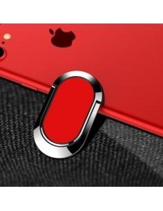 Mágneses 360 fokban forgatható telefon gyűrű - PIROS