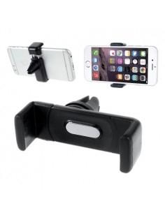 Autó szellőzőrácsra rögzíthető telefon autós tartó - FEKETE