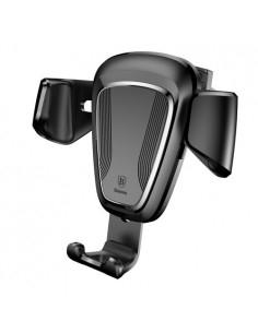 BASEUS Gravity autó szellőzőrácsra helyezhető univerzális telefon tartó - FEKETE