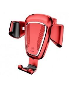 BASEUS Gravity autó szellőzőrácsra helyezhető univerzális telefon tartó - PIROS