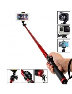 Teleszkópos szelfibot Bluetooth vezérléssel okostelefonokhoz GoPro kamerához - PIROS