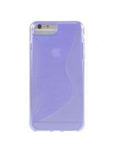S-line rugalmas tok iPhone 8 Plus /7 Plus/6s Plus/6 Plus telefonhoz - LILA