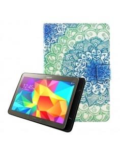 Univerzális tablet tok kivehető mágneses belsővel 9-10 colos készülékekhez - KÉK MANDALA