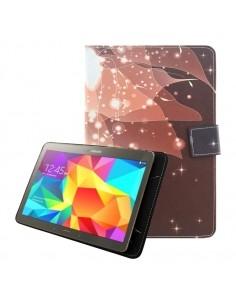 Univerzális tablet tok kivehető mágneses belsővel 7-8 colos készülékekhez - KÁVÉSZÍNŰ