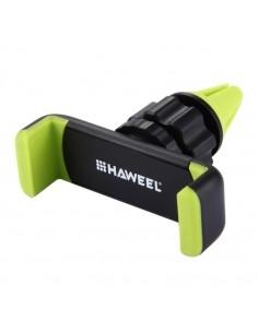 HAWEEL autó szellőzőrácsra rögzíthető telefon autós tartó - ZÖLD