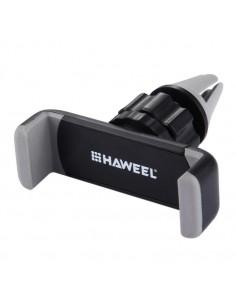 HAWEEL autó szellőzőrácsra rögzíthető telefon autós tartó - SZÜRKE