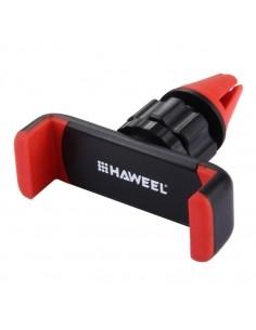 HAWEEL autó szellőzőrácsra rögzíthető telefon autós tartó - PIROS