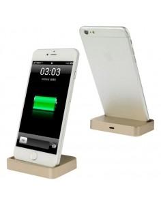 Asztali töltő iPhone X / iPhone 8 & 8 Plus / iPhone 7 & 7 Plus / iPhone 6 & 6s & 6 Plus & 6s Plus / iPad - ARANY SZÍNŰ