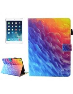 Táblagép tok iPad 9.7 2017 / iPad Air / iPad Air 2 colos készülékekhez - SZÍNES MINTÁS