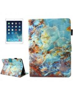 Táblagép tok iPad mini 4 / mini 3 / mini 2 / mini colos készülékekhez - ZÖLD MÁRVÁNY