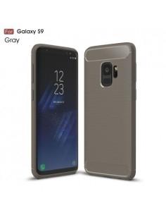 Samsung Galaxy S9 karbon mintás tok - SZÜRKE