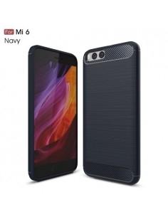 Xiaomi Mi 6 karbon mintás tok - KÉK