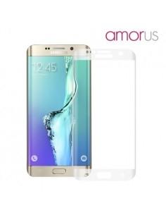 Kijelzővédő karcálló edzett üveg Samsung Galaxy S6 edge Plus típusú telefonhoz
