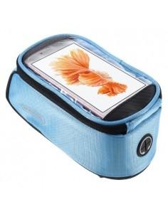 Kerékpárra rögzíthető telefontok 8.5x16 cm-es telefonokhoz - KÉK