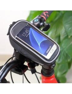 ROSWHEEL kerékpár kormányra rögzíthető tok 16.5x8 cm - FEKETE