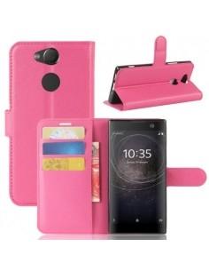 Notesz tok Sony Xperia XA2 telefonhoz - PINK