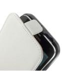 Samsung Galaxy S5 telefontok - elegáns - fehér - lenyitható