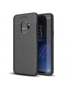 IVSO TPU rugalmas tok Samsung Galaxy S9 készülékhez - FEKETE