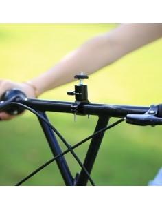 PULUZ kerékpár kormányra rögzíthető aluminium telefontartó - FEKETE