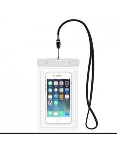 Vízálló mobiltelefon tartó 17 x 11 cm készülékekhez - FEHÉR