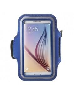 Karra csatolható rugalmas anyagú telefontok sportoláshoz - 7,5*14 cm - KÉK