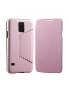 Samsung Galaxy S5 tok - notesz telefontok - rózsaszín