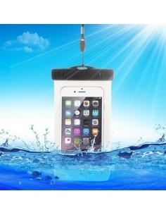 Vízálló mobiltelefon tartó 16.3 x 9 cm készülékekhez - ÁTTETSZŐ
