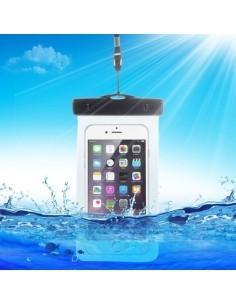 Vízálló mobiltelefon tartó 16.3 x 9 cm készülékekhez - KÉK