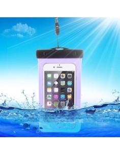 Vízálló mobiltelefon tartó 16.3 x 9 cm készülékekhez - LILA