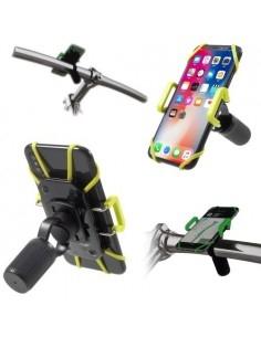 IDMIX DM05 kormányra rögzíthető univerzális telefontartó 4-10 cm széles készülékekhez - FEKETE