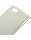 Sony Xperia Z1 Compact tok - rugalmas - fehér - tpu