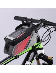 WHEEL UP kerékpár vázra rögzíthető tok 22x15 cm - FEKETE