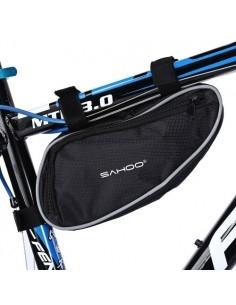 SAHOO 2L kerékpár vázra rögzíthető tok 25x14 cm - FEKETE