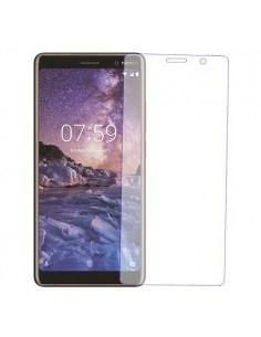 Kijelzővédő karcálló edzett üveg Nokia 7 plus típusú telefonhoz