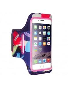 FLOVEME karra csatolható rugalmas anyagú telefontok sportoláshoz - 7,5*14 cm - PINK