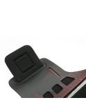 Karra csatolható rugalmas anyagú telefontok sportoláshoz - piros