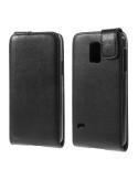 Lenyitható telefontok Samsung Galaxy S5 mini telefonhoz - fekete