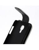 Lenyitható telefontok Samsung Galaxy S 4 Mini telefonhoz - fehér