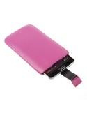 Pink telefontok kihúzóval - 9,5x16,5 cm