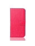 Oldalra nyíló tok Samsung Galaxy S5 mini telefonhoz - pink