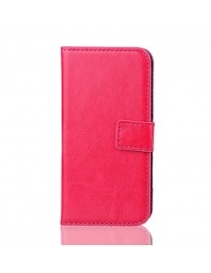 Oldalra nyíló notesz tok Samsung Galaxy S5 mini telefonhoz - pink