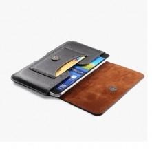 Övre fűzhető fekete színű mobiltelefon tartó
